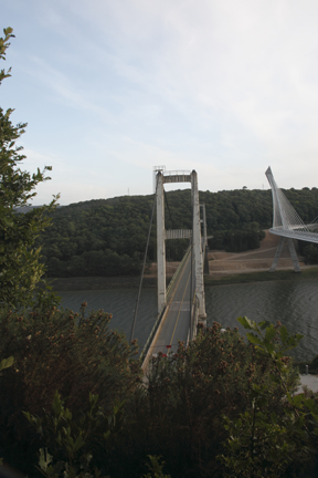 The Old Suspension Bridge at Terenez