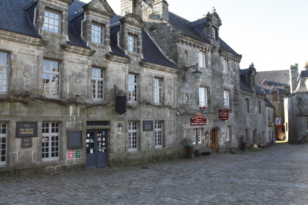 Centre of Locronan