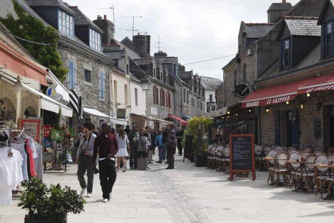 The Medieval Old Town at Concarneau